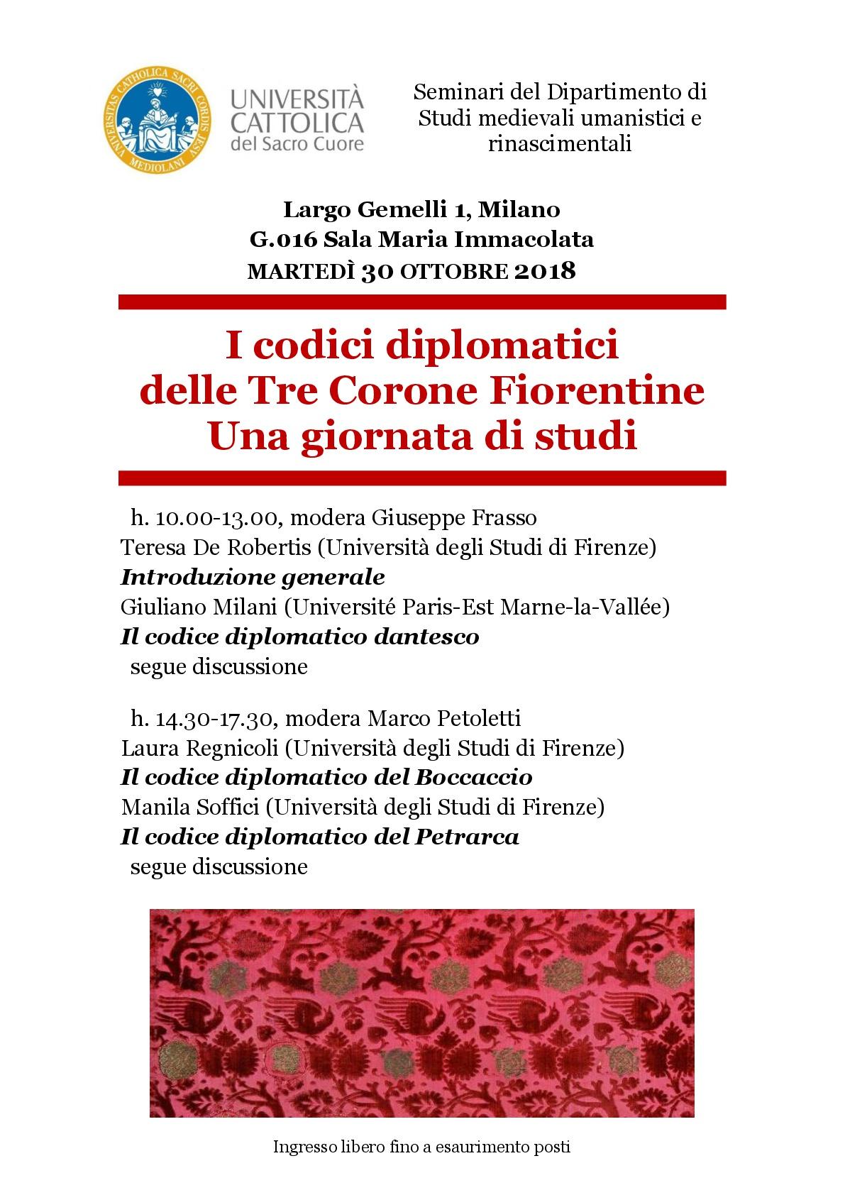 Codici diplomatici Tre Corone-001