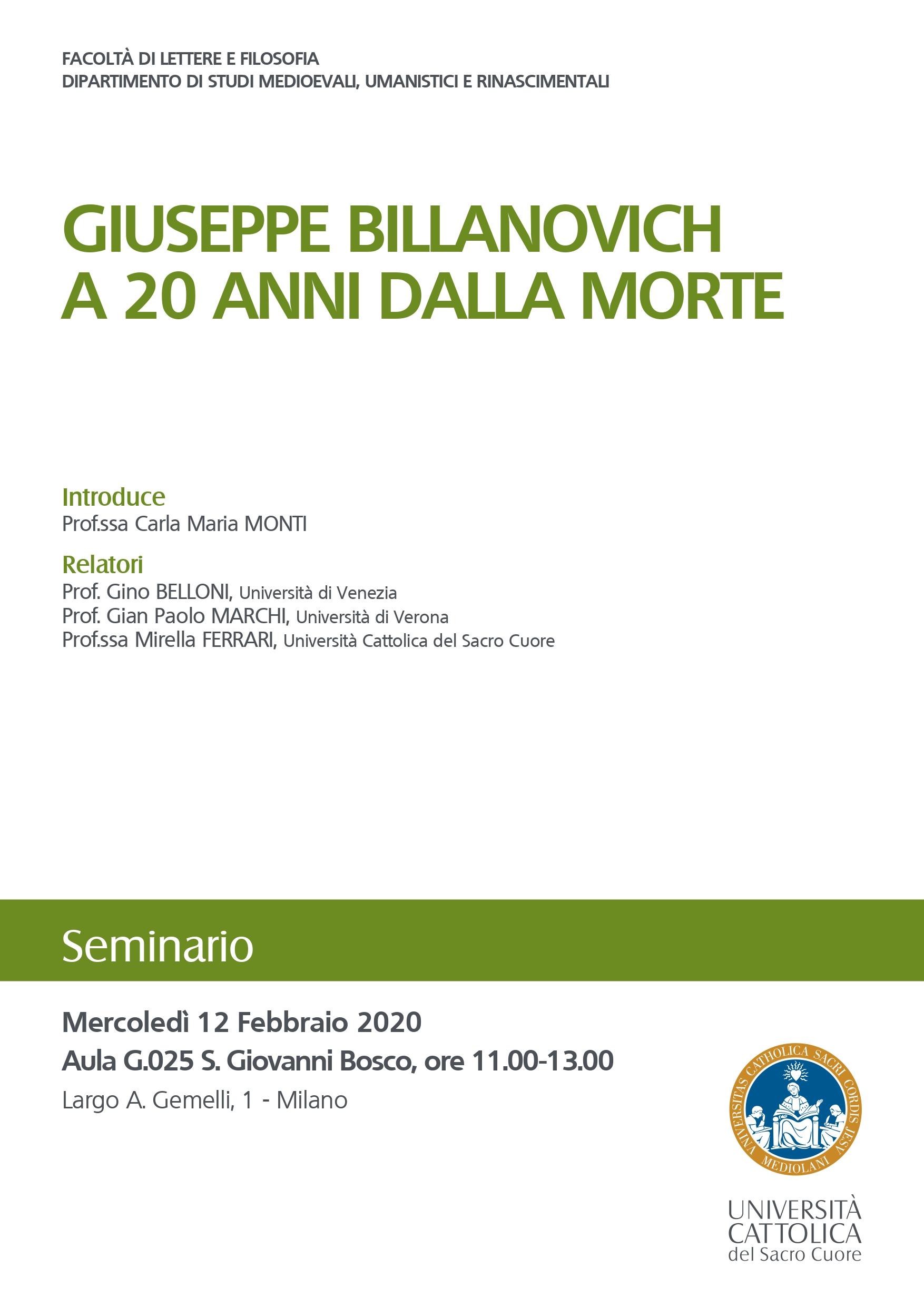 Definitiva Giuseppe Billanovich a 20 anni dalla morte_page-0001